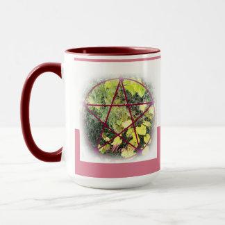 Wild Mabon Pentacle Mug