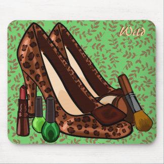 WILD Makeup & Shoes Mousepad