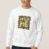 Wild Me Leopard Brown and Yellow Print Sweatshirt