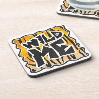 Wild Me Tiger Orange and Black Coaster