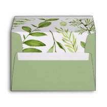 Wild Meadow 5x7 Return Address Envelope