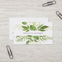 Wild Meadow | Botanical Business Card