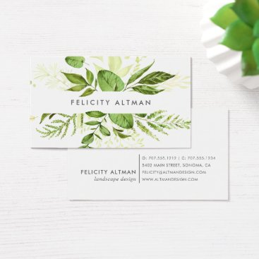 Professional Business Wild Meadow | Botanical Business Card