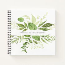 Wild Meadow | Botanical Personalized Notebook