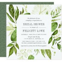 Wild Meadow Bridal Shower Invitation   Square