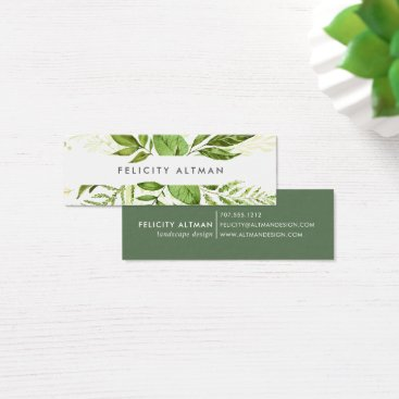 Professional Business Wild Meadow Business Cards | Mini