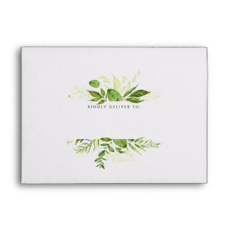Wild Meadow Embellished Address Envelope