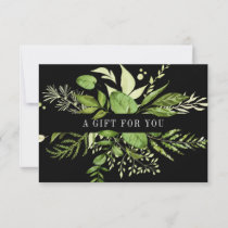 Wild Meadow | Green Botanical Gift Certificate