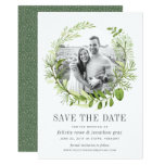 Wild Meadow Photo Save the Date Card
