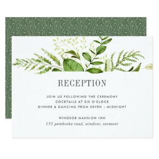 Wild Meadow Reception Card