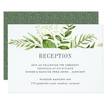 RedwoodAndVine Wild Meadow Reception Card