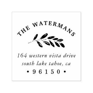 Wild Meadow Return Address Self-inking Stamp