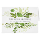 Wild Meadow | Watercolor Botanical Thank You Card