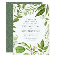 Wild Meadow Wedding Invitation
