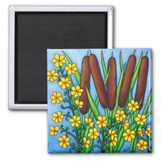 Wild Medley Floral Magnet