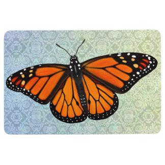 Wild Monarch Butterfly Floor Mat