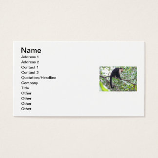 Wild Monkey Picture Business Card
