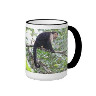 Wild Monkey Picture Ringer Mug