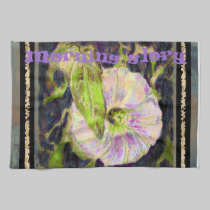 Wild Morning Glory by Alexandra Cook american mojo kitchen towels
