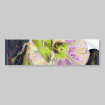 Wild Morning Glory by Alexandra Cook bumper stickers
