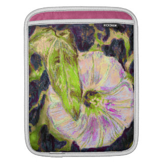 Wild Morning Glory by Alexandra Cook iPad Sleeve
