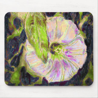 Wild Morning Glory by Alexandra Cook Mouse Pad