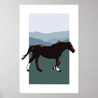 Wild Mountain Mare Print