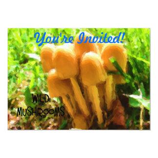 Wild Mushroom Card
