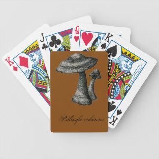 Wild mushroom card deck