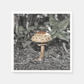 Wild Mushroom (Toadstool) Napkin