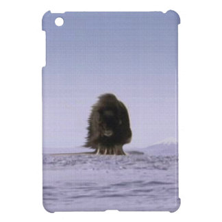 Wild Musk Ox & Arctic Tundra Bovine Wildlife Art Case For The iPad Mini