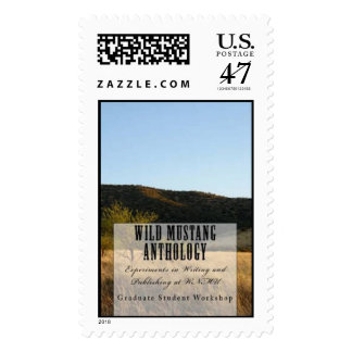Wild Mustang Anthology first class postage