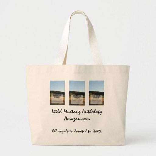 Wild Mustang Anthology jumbo tote Bags