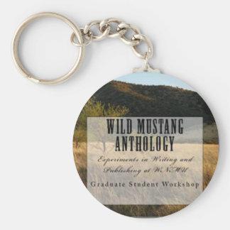 Wild Mustang Anthology key ring Basic Round Button Keychain