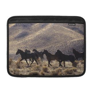 Wild Mustang Horses in the Desert 1 MacBook Sleeve