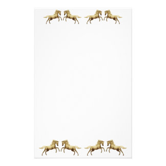 Wild Mustang Horses Stationery
