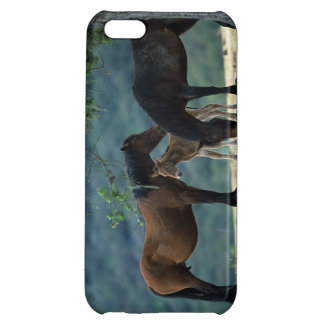 Wild Mustang Mare & Foal iPhone 5C Cover