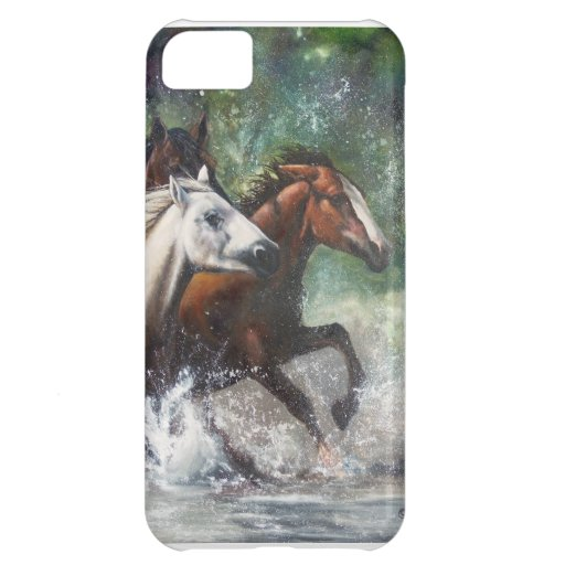 Wild Mustang Phone Cases Cover For iPhone 5C