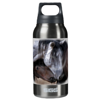 Wild Mustang 10 Oz Insulated SIGG Thermos Water Bottle