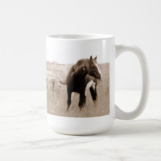 Wild Mustang Stallion~Majesty 15oz mug