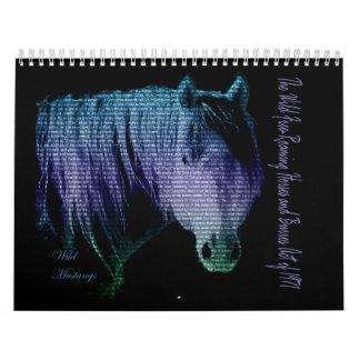 Wild Mustang's 2015 Calendar