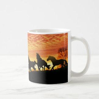 Wild Mustangs Coffee Mug