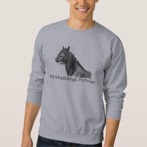 Wild Mustangs Forever Sweat Shirt