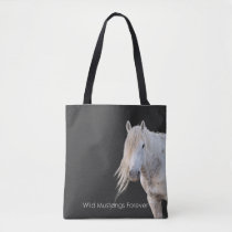 Wild Mustangs Forever Tote Bag