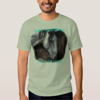 Wild Mustangs In Love T-Shirt