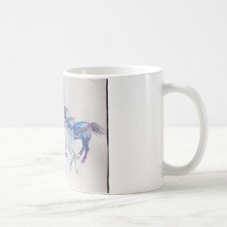 Wild Mustangs in Pastel Mug