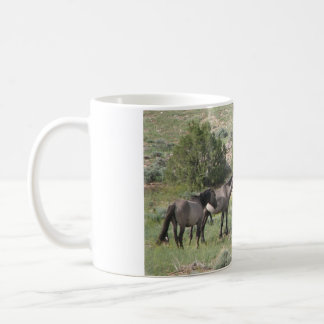 Wild Mustangs Coffee Mugs