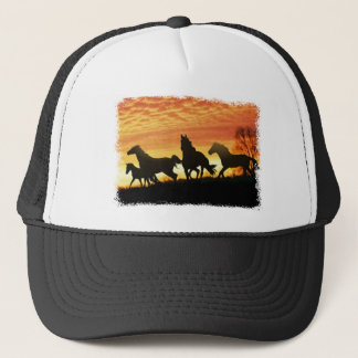 Wild Mustangs Trucker Hat