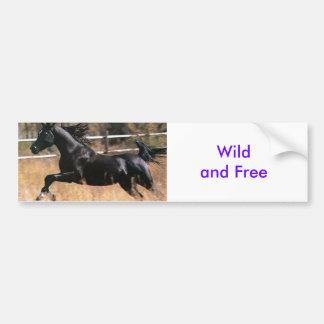 Wild 'n Free Bumper Sticker