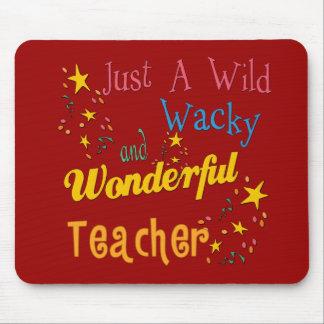 Wild N Wacky Teacher Mouse Mat